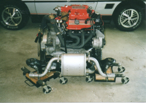 New engine ready to install in my Fiero
