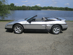 My Fiero convertible