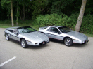 My 1986 Fiero SE coupe and convertible